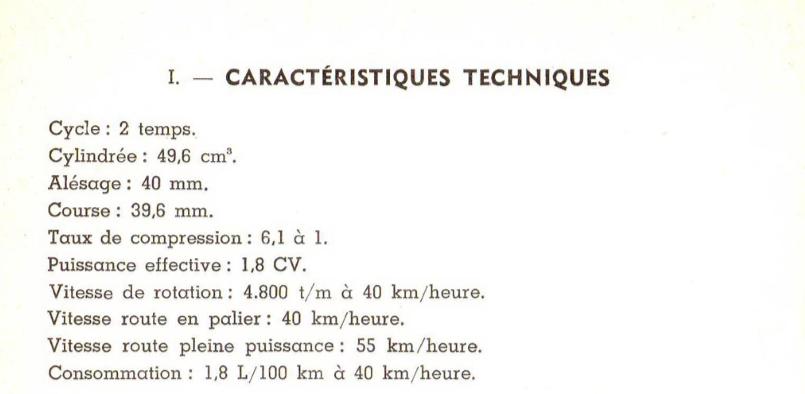 """Immatriculation en collection et """"genre"""": cyclomoteur ou motocyclette légère? Paloma10"""