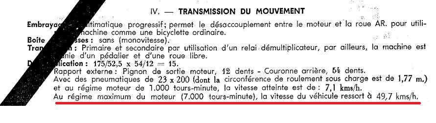 """Immatriculation en collection et """"genre"""": cyclomoteur ou motocyclette légère? Paloma11"""