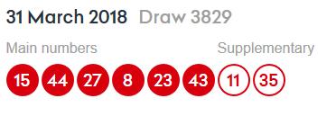 Lottery 2018-2019 (résultats publiés) Lotto10