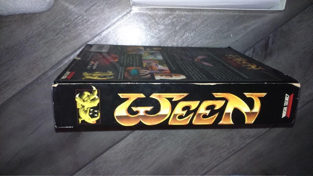 (vds ech) jeux amiga commodore en boite. big box plus notice  ween & drakken. révision du prix  Dsc_0717
