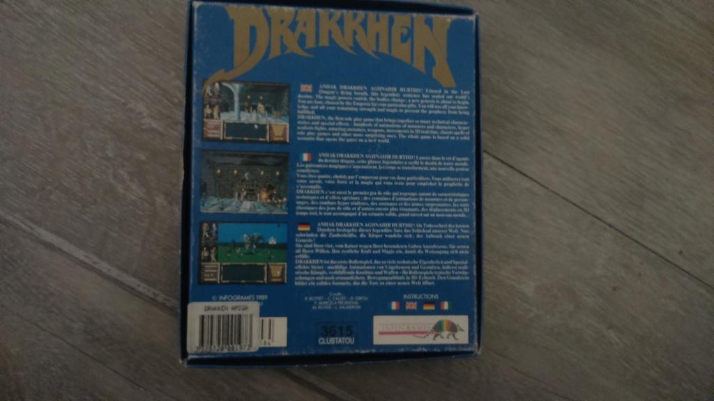 (vds ech) jeux amiga commodore en boite. big box plus notice  ween & drakken. révision du prix  Dsc_0726