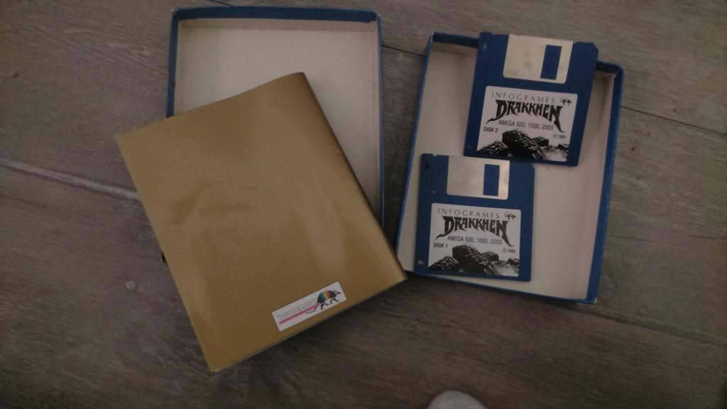 (vds ech) jeux amiga commodore en boite. big box plus notice  ween & drakken. révision du prix  Dsc_0729