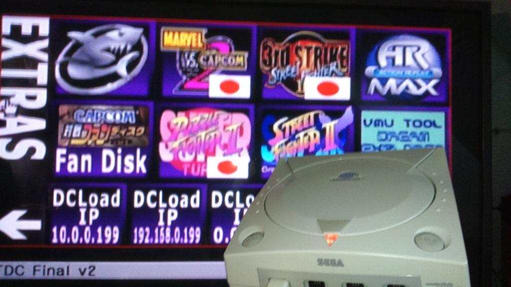 lot sega console sega dreamcast pal. plus jeux démo et cadeaux bonus ,   115 fdin  colisimouse Dsc_1069