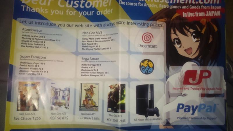 il reste quoi en boutique rétro import qui vend des jeux sur internet  Dsc_1349