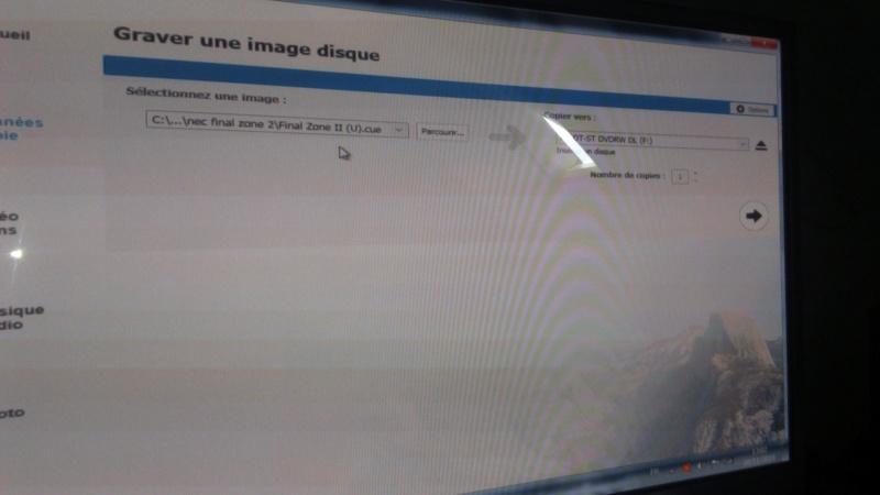 pc engine cd  nec gravée des jeux  Dsc_1634
