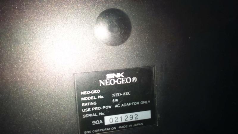 L'origine de la console Neo-Geo AES - Page 2 Dsc_1663