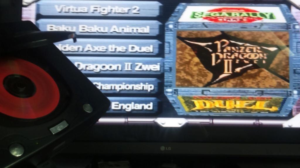 ( vds /ech ) console saturn pal model 2 mk plus démo et 2  classics  jeux japonais  85 e  out  Dsc_1751