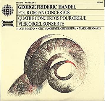 Haendel - Concertos pour orgue ou instruments seuls 61lfjp12