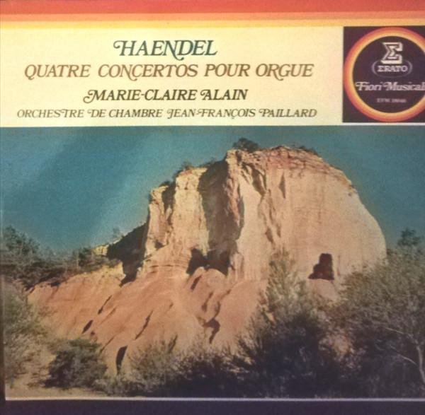 Haendel - Concertos pour orgue ou instruments seuls Haende14