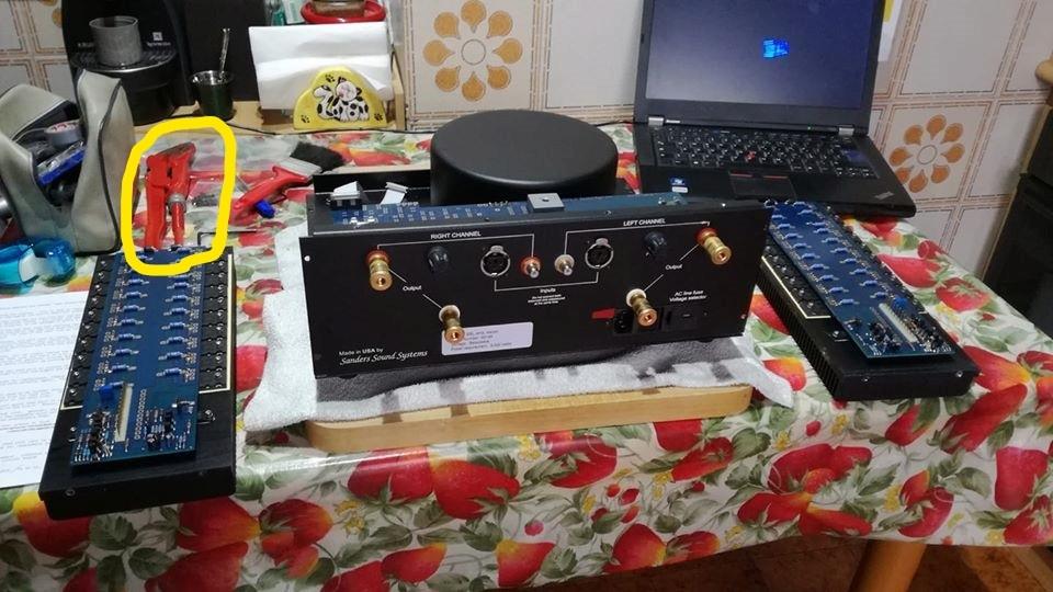 Sanders Sound Systems e garanzia a vita Inked710
