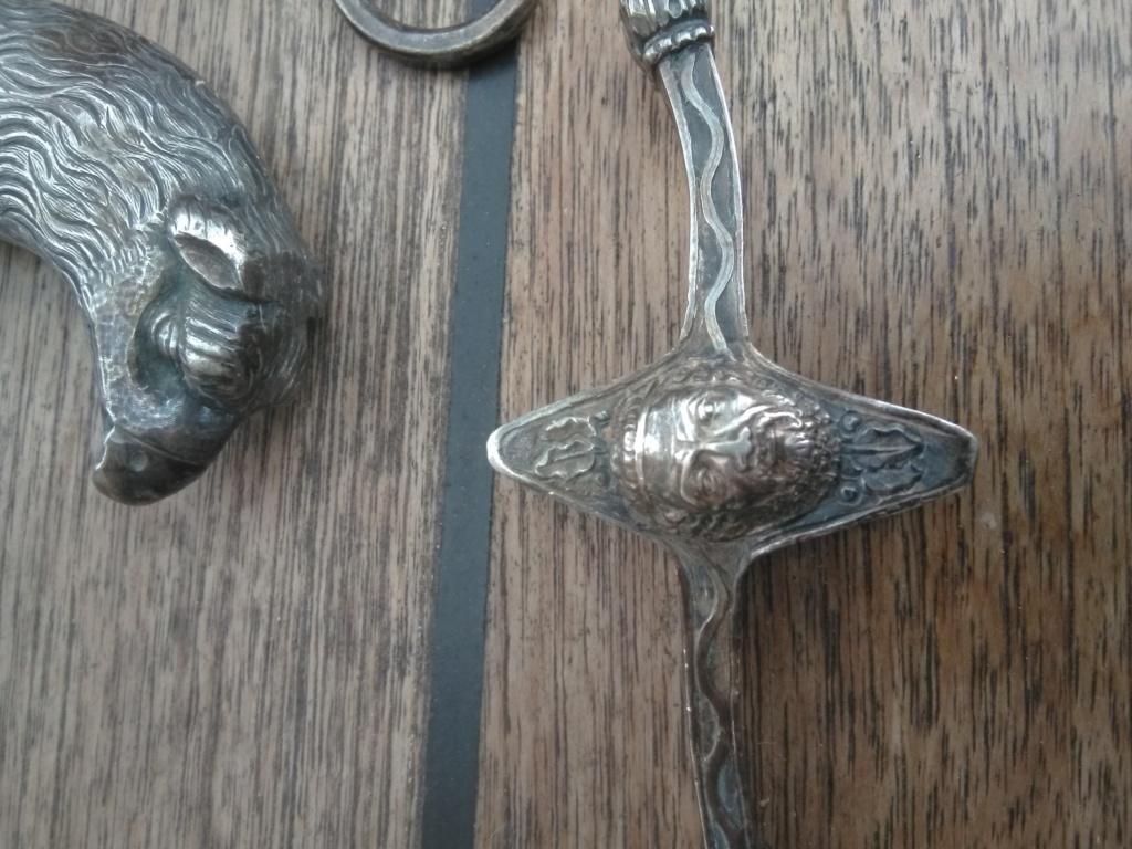 poignée et pièce sabre napoléonien à l'orientale G10