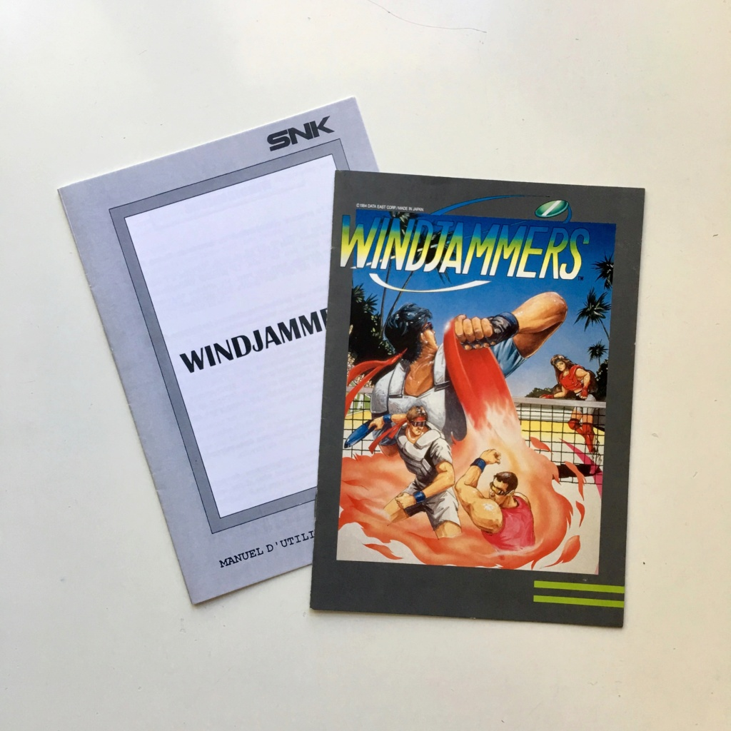 [RECH] Scan du manuel Windjammers (US et/ou FR) Fullsi26