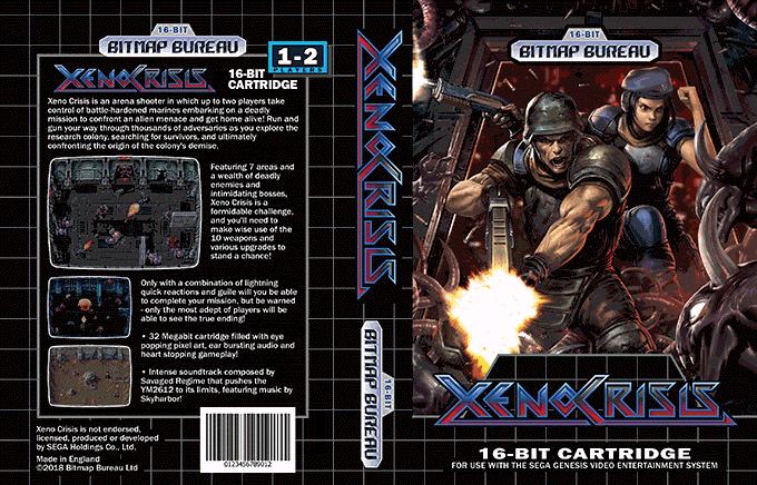 Xeno Crisis sur Mega Drive Xeno210