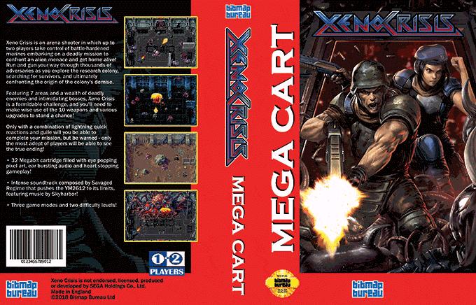 Xeno Crisis sur Mega Drive Xeno310