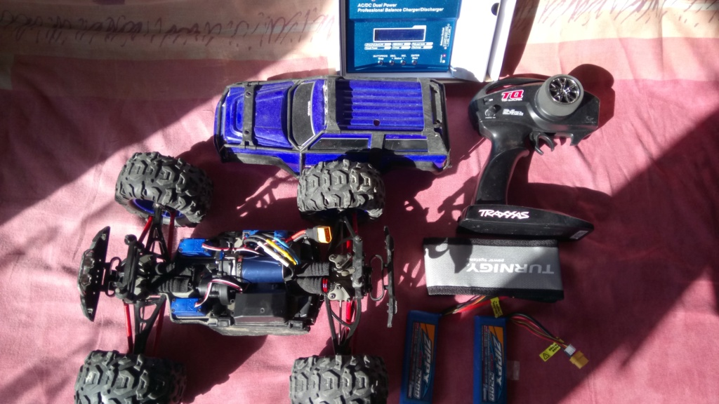 [Vends] Voiture RC Traxxas summit VXL 1/16 (brushless) Dsc_0610
