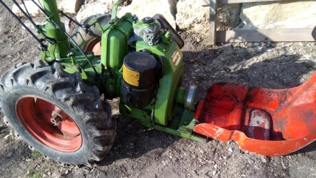 agria - Motoculteur Agria 2500 Diesel Dsc_0917