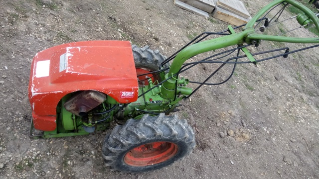 agria - Motoculteur Agria 2500 Diesel Dsc_0921