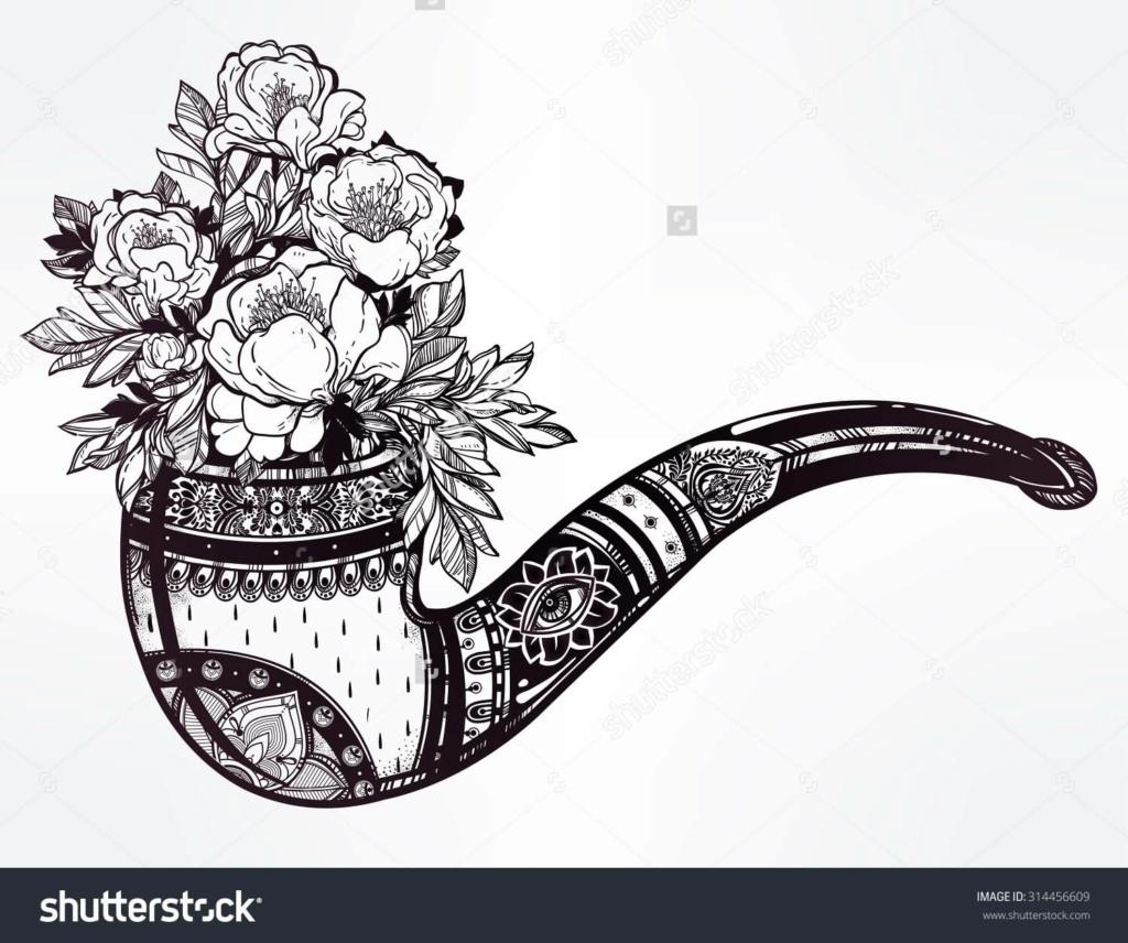 Des fleurs dans le tabac pour le 5 octobre  Black-10