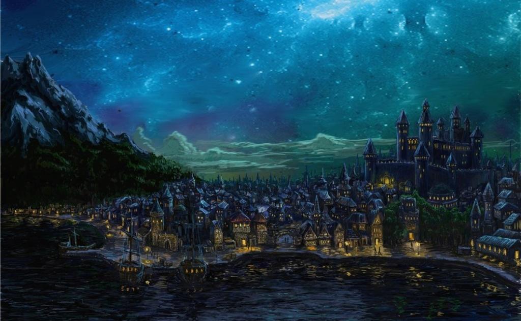 A quoi ressemble notre village. Dragon10