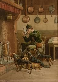 3 novembre, à la Saint Hubert, on chasse les belles bruyères.  Images20