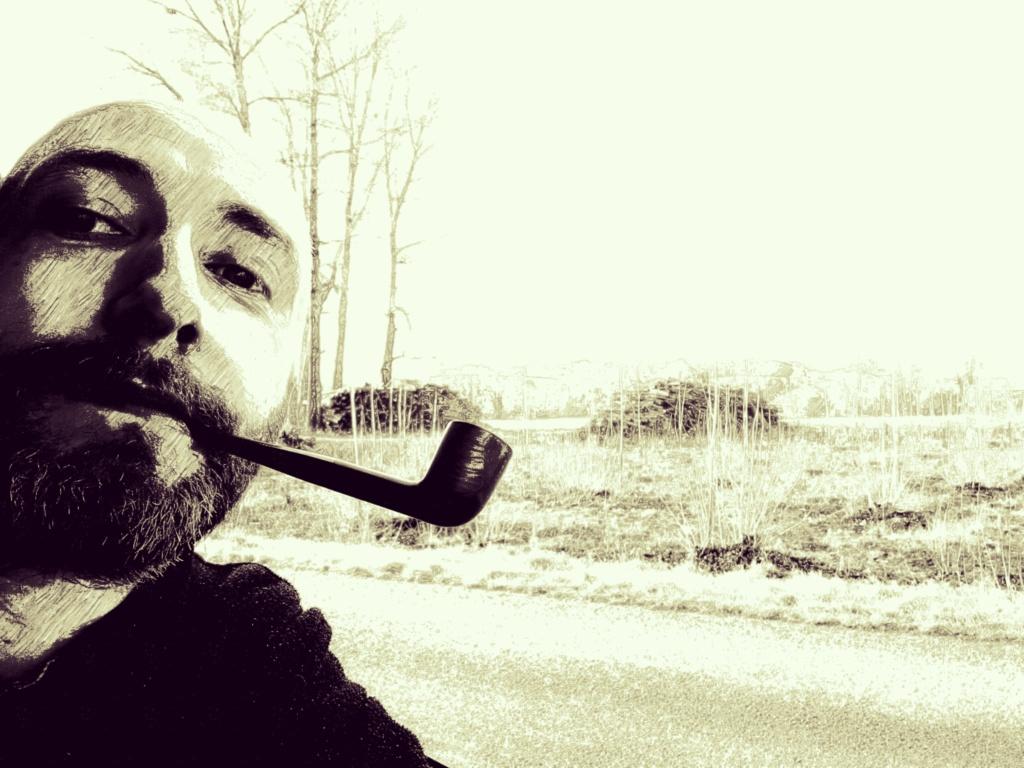 Le 4 février, on fume ou on chique pour fêter Véronique.  Img_2320
