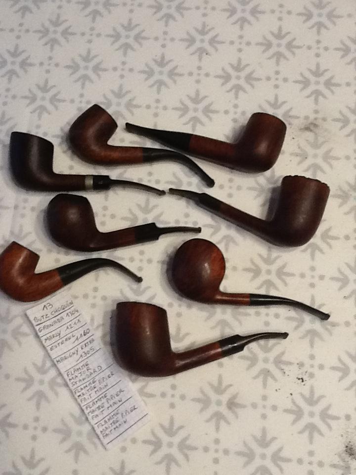 Pipes bourguignonnes à vendre. Lot_1310