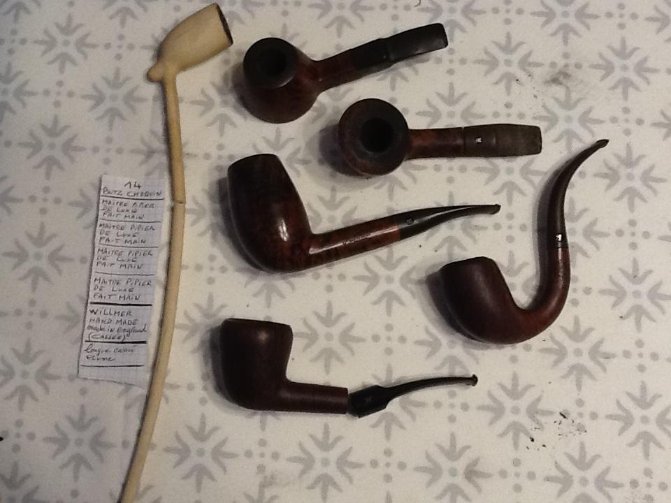 Pipes bourguignonnes à vendre. Lot_1411