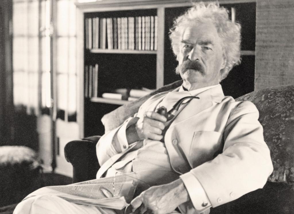 Personnages favoris historiques ou fantastiques, fumeur de pipe évidemment,  Twain10