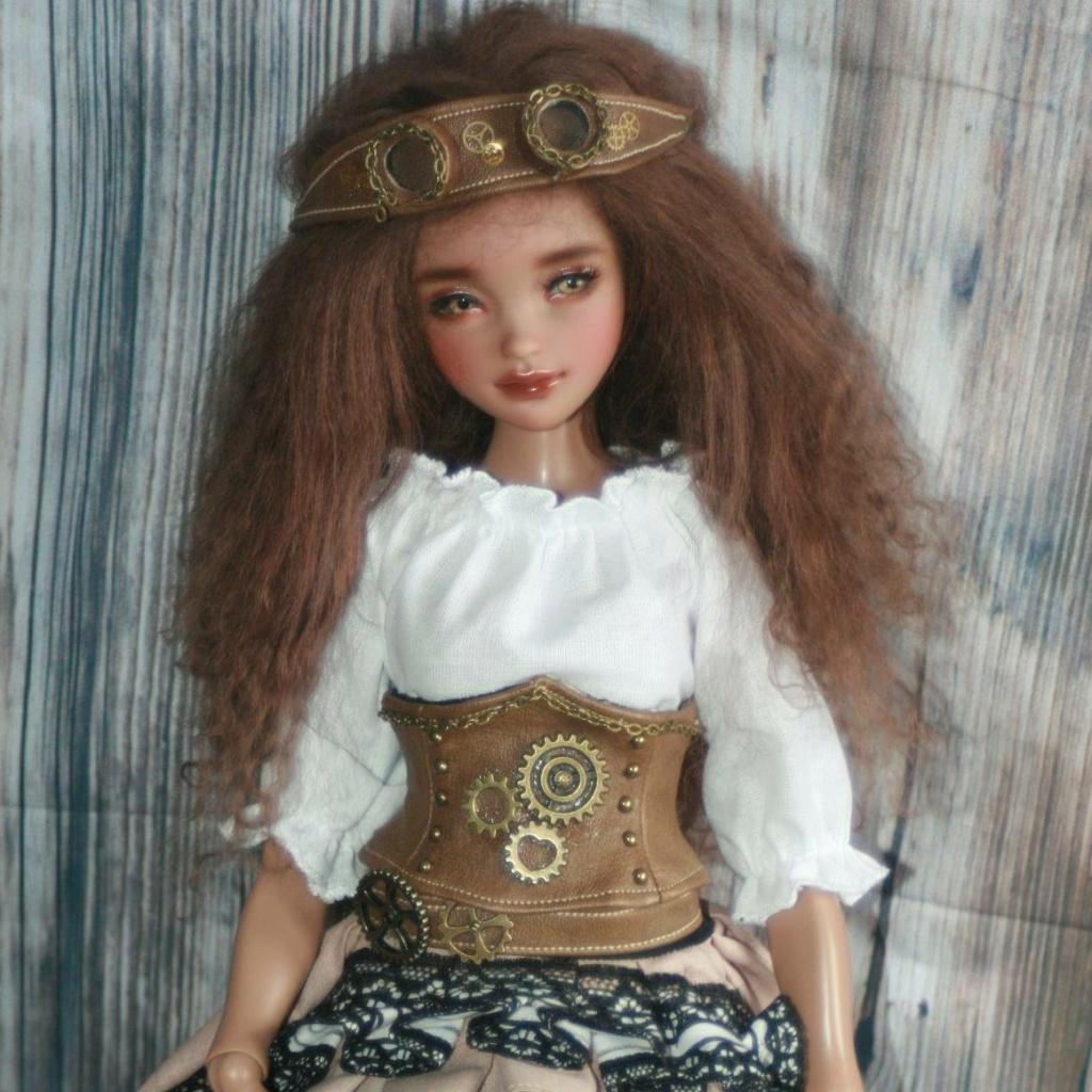 Ziya tan youpla dolls + extra édition d'artiste pour le DRV  Zo510