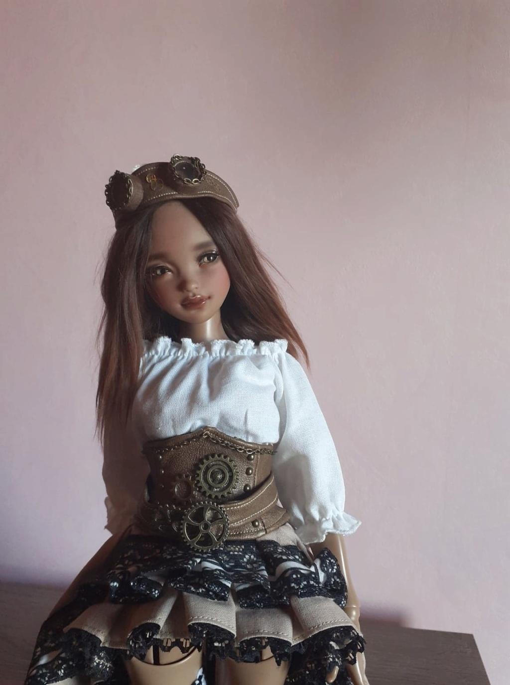 Ziya tan youpla dolls + extra édition d'artiste pour le DRV  Zo710