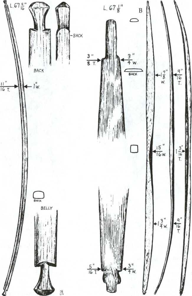 Plains-style bow 14q-6310