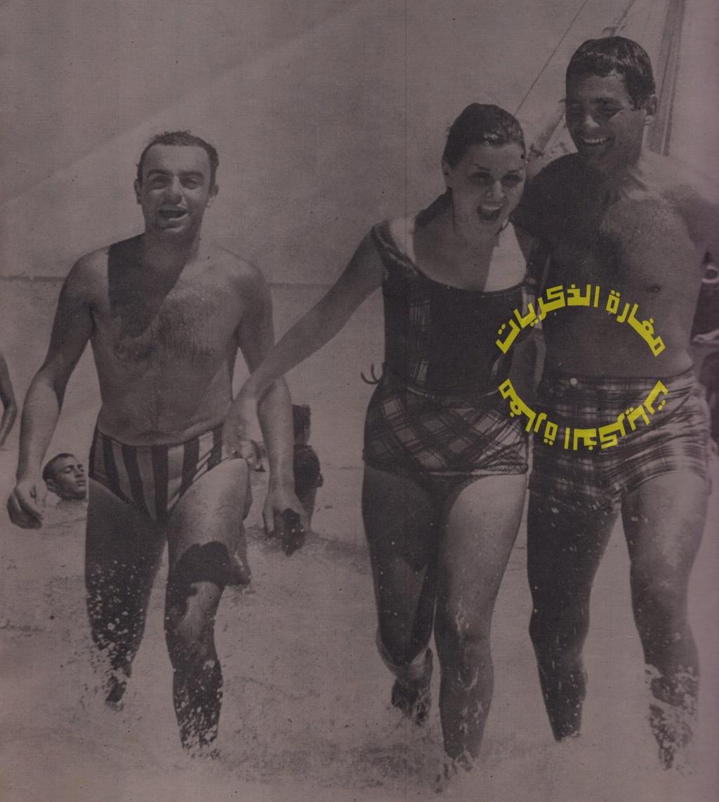 مقال - مقال صحفي : هذه الصورة سبب الأزمة بين عبدالحليم وسعاد! 1963 م 135