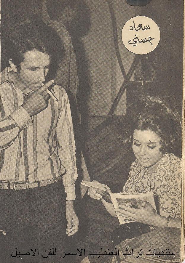 مقال - مقال صحفي : سعاد حسني لايستطيع زوجها أن يغار عليها 1970 م 375