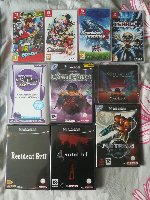 [VDS] Quelques jeux GC , Wii U et Switch . Img_2028