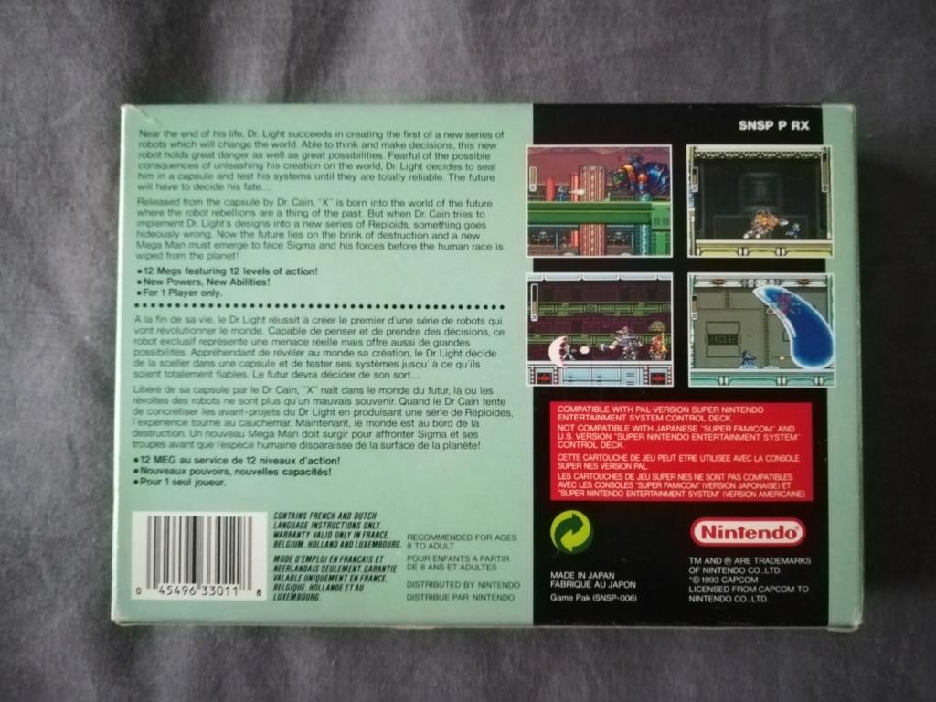 [VDS] Boîte + Notice de Megaman X sur SNES Img_2053