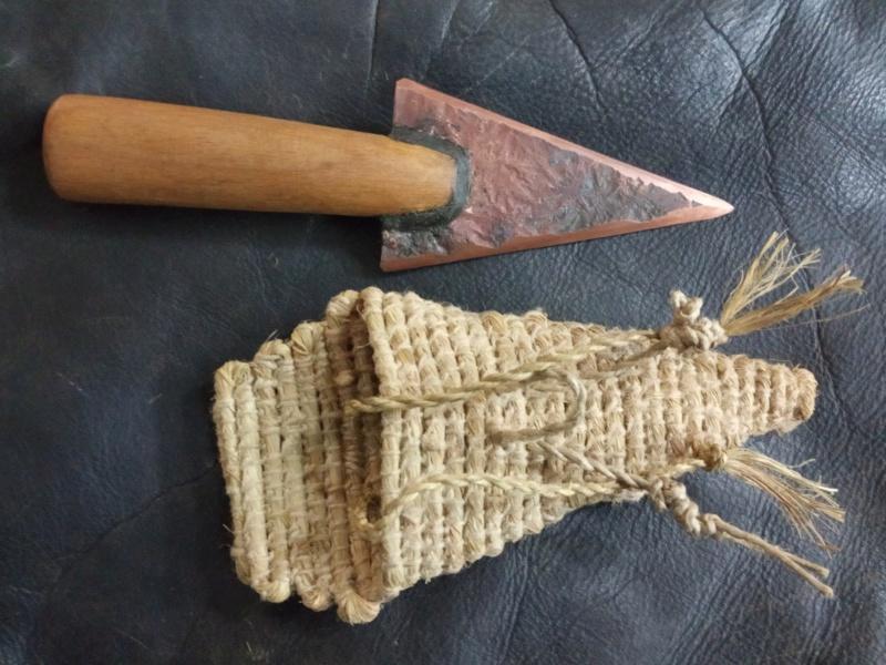 Cuchillo calcolítico  Img_2072