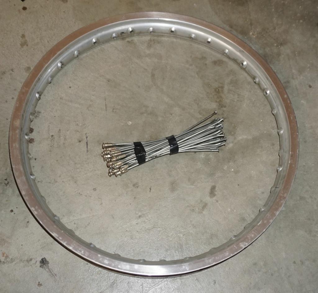Kit roue avant 650 DR  Cercle10