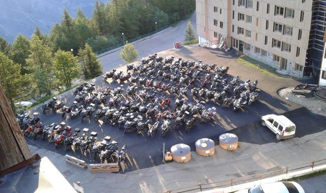 Week end moto dans les Alpes (Karellis) C'EST FINI SNIF ! - Page 4 Karell10