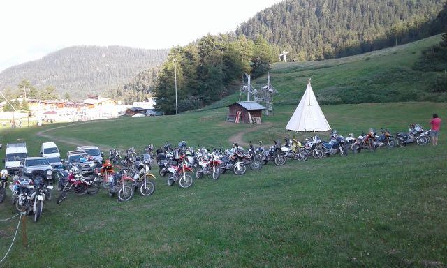 Week end moto dans les Alpes (Karellis) C'EST FINI SNIF ! - Page 4 Karell11