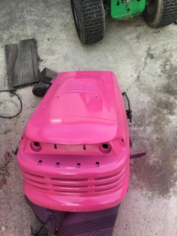 The JoJo Siwa tractor! Img_3110