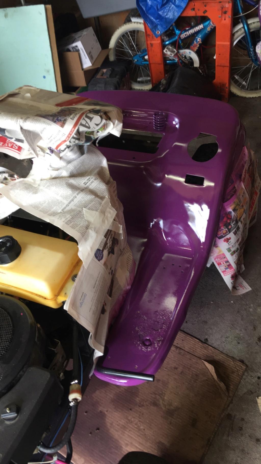 The JoJo Siwa tractor! Img_3112