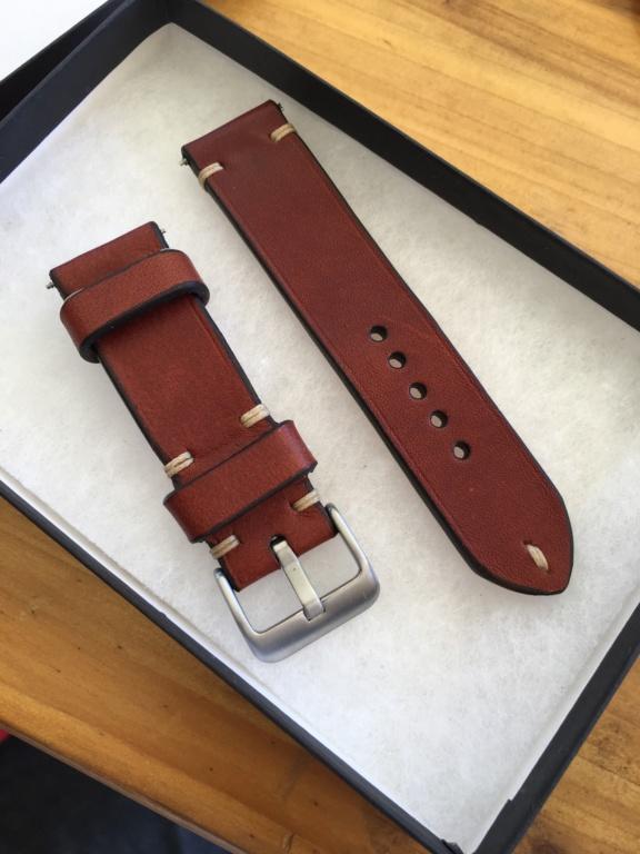 Bracelete em pele estilo vintage 37633510
