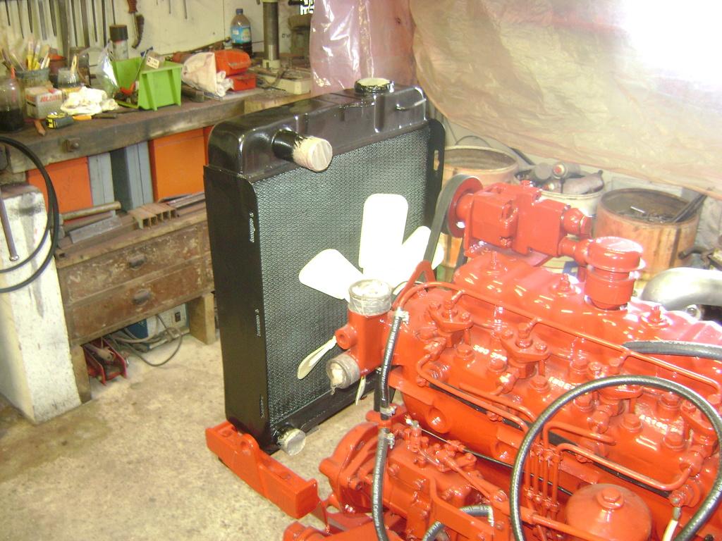 restauration - restauration d'un tracteur ENERGIC 519 B Dsc05535