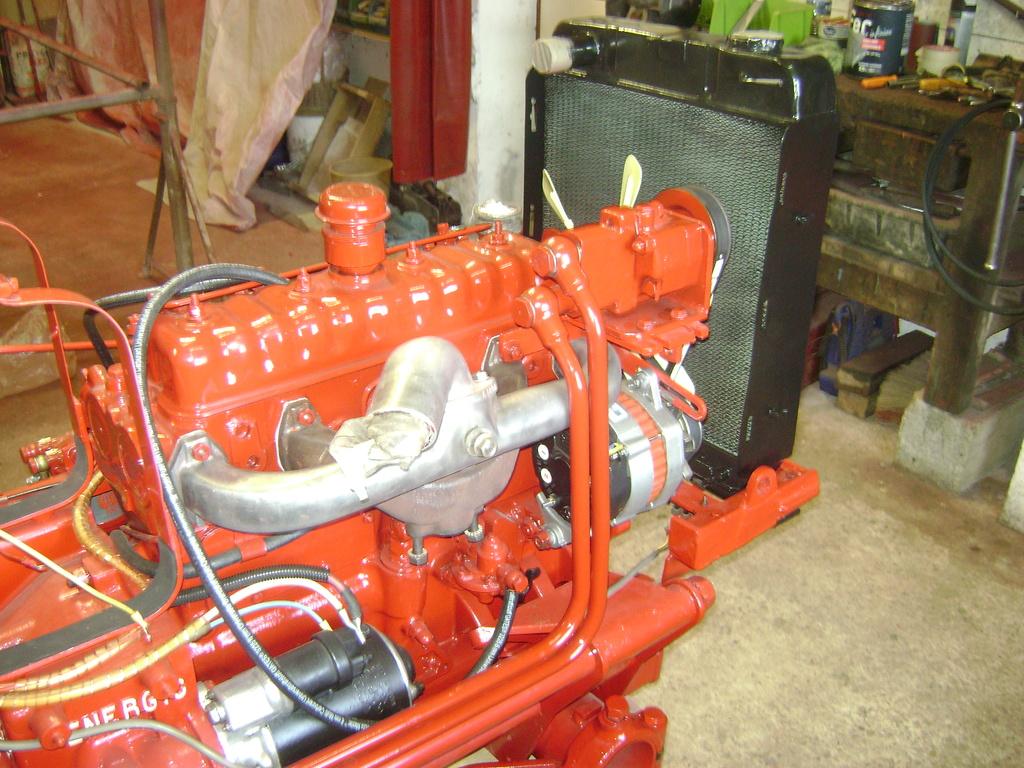 restauration - restauration d'un tracteur ENERGIC 519 B Dsc05536