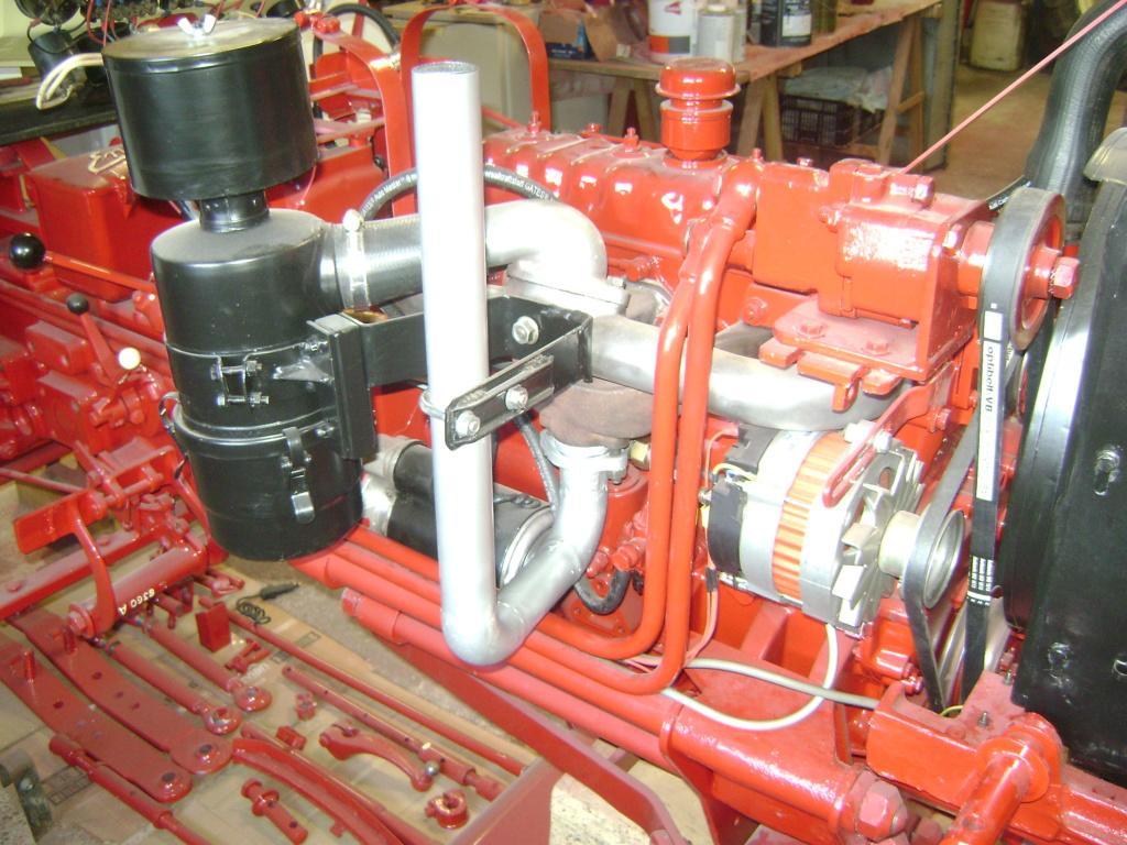 energic - restauration d'un tracteur ENERGIC 519 Dsc05612