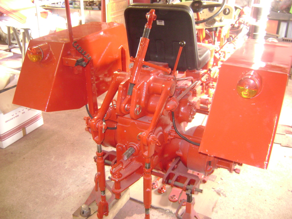 energic - restauration d'un tracteur ENERGIC 519 Dsc05630