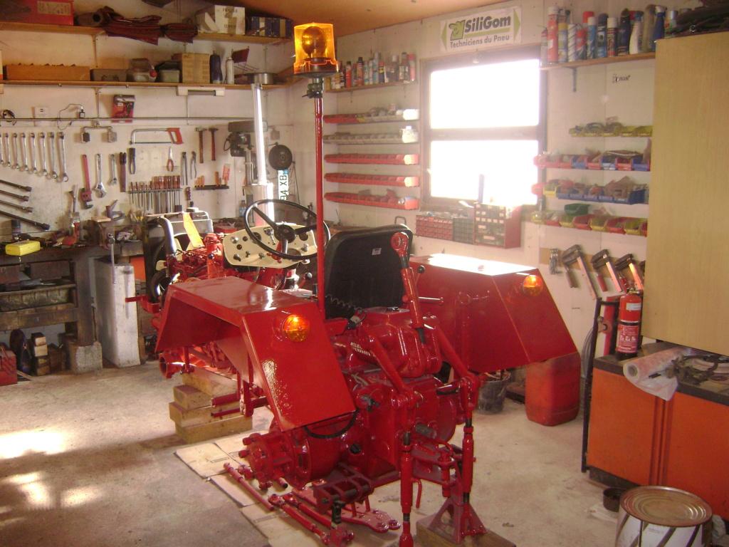 energic - restauration d'un tracteur ENERGIC 519 Dsc05635