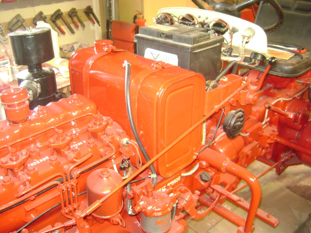 energic - restauration d'un tracteur ENERGIC 519 Dsc05639