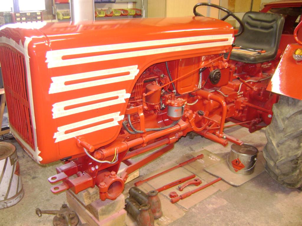 energic - restauration d'un tracteur ENERGIC 519 Dsc05649