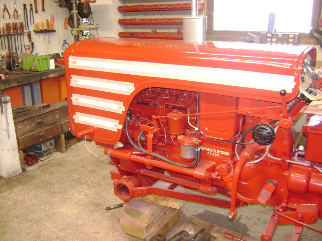 restauration d'un tracteur ENERGIC 519 Dsc05652
